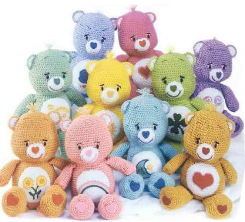 Crochet Care Bears Free Pattern