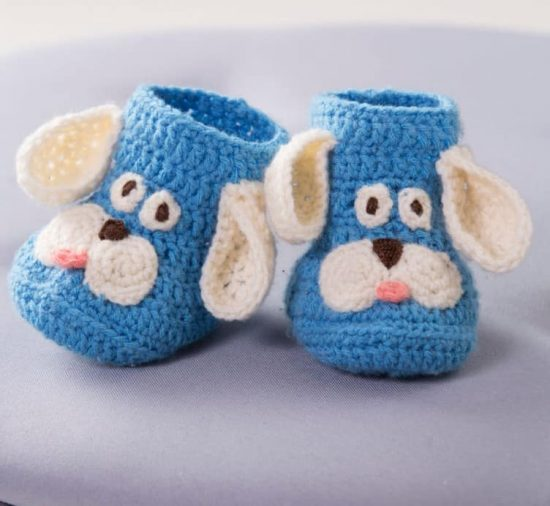 Crochet Puppy Booties Free Pattern