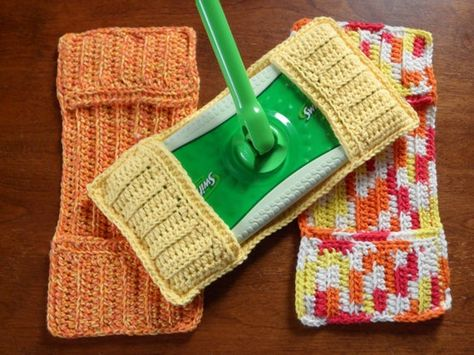 Crochet Swiffer Covers Free Pattern