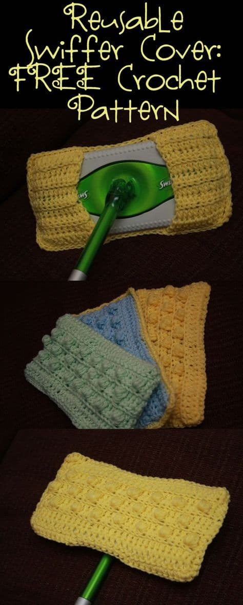 Crochet Swiffer Pad Free Pattern