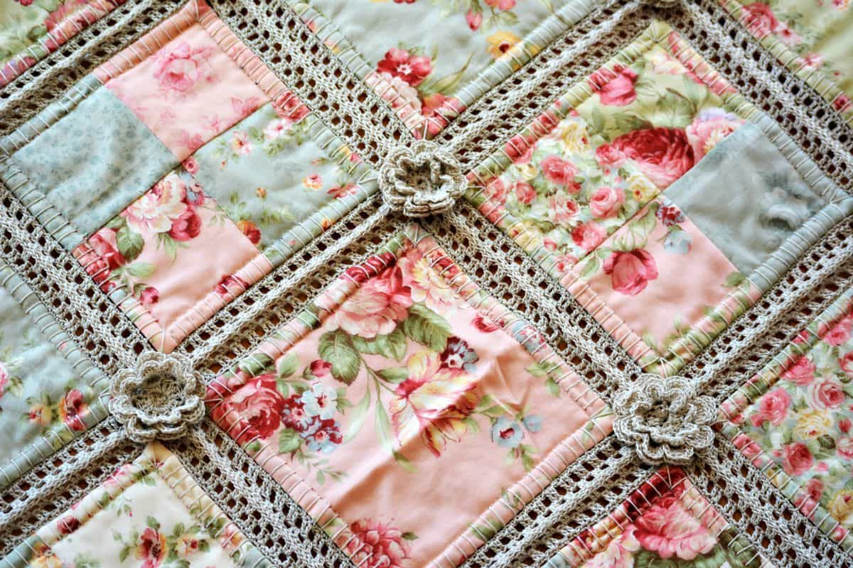 Fabric Crochet Quilt Is The Project You've Been Looking For : fabric quilting - Adamdwight.com