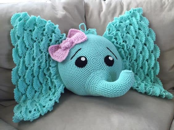 Amigurumi Elephant Pattern : Elephant crochet lots of adorable patterns the whoot