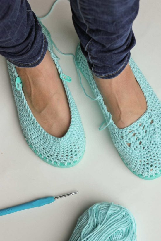 How To Crochet Slippers With Flip Flops