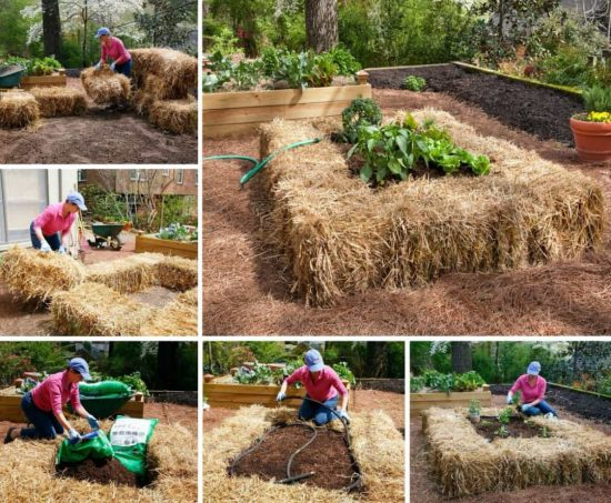 How To Build A Raised Straw Bale Bed
