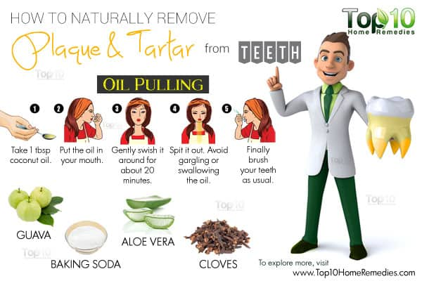 How To Naturally Remove Plaque and Tartar