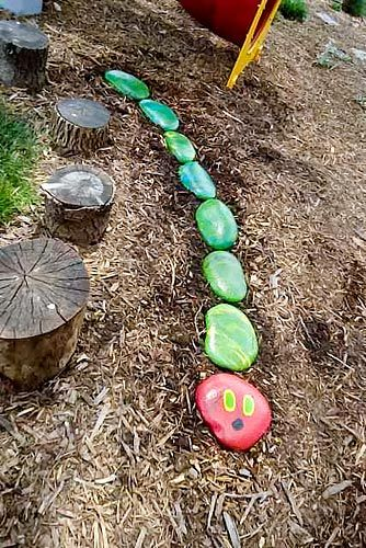 Hungry Caterpillar Rocks