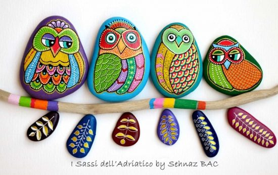 Painted Owl Rocks
