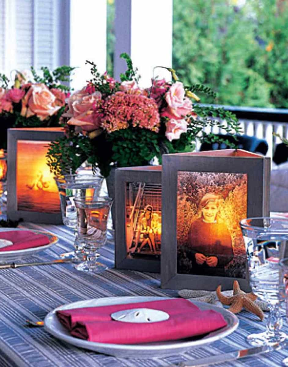 Picture frame luminaries diy video tutorial the whoot