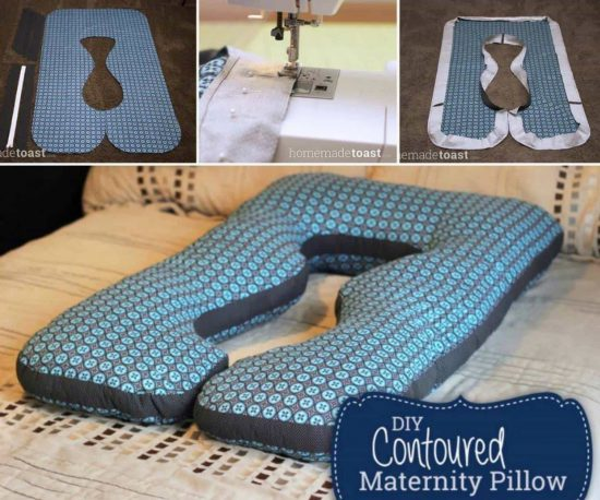 Contoured Pillow Free Pattern