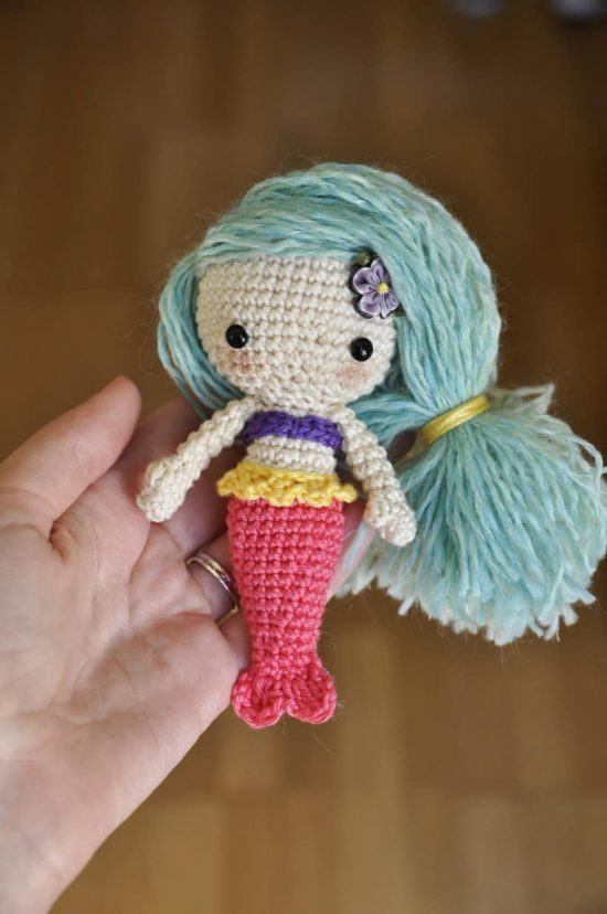 Crochet Mermaid Amigurumi Free Pattern