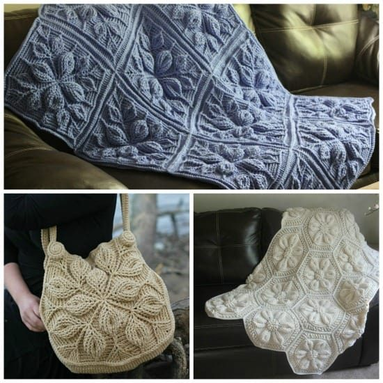 Crochet pattern looks like knitting