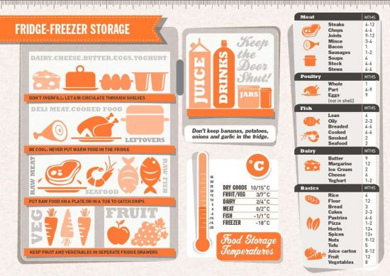 Fridge Freezer Storage