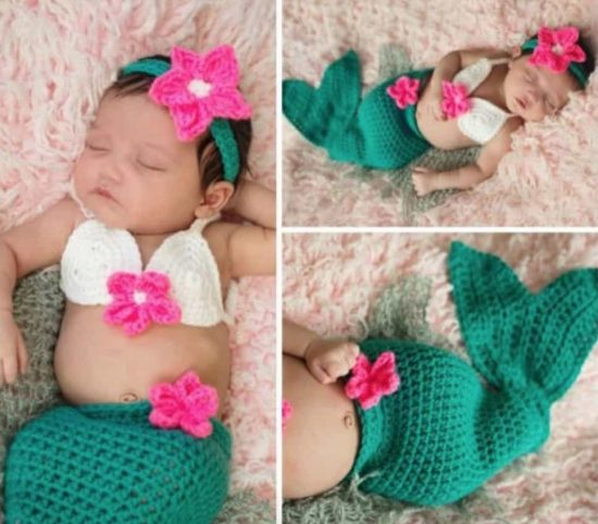 Crochet Mermaid Projects Lots Of Free Patterns The WHOot New Free Crochet Pattern For Baby Mermaid Cocoon