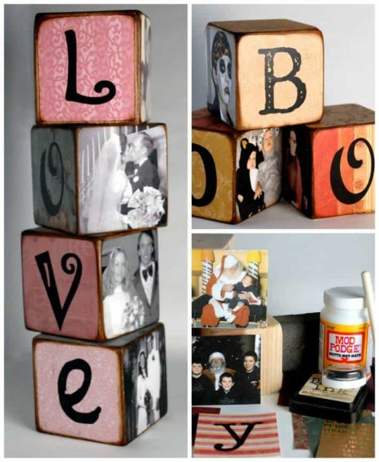 family photo letters