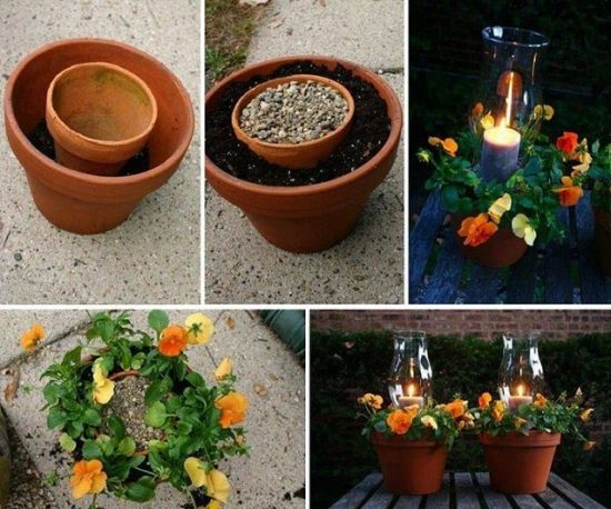 potted-candle-planter