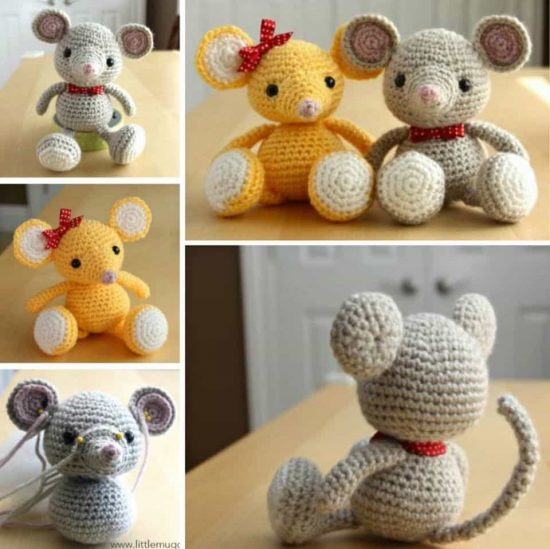 Baby Mouse Free Crochet Pattern