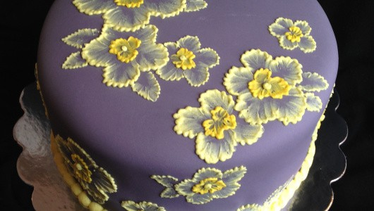 Brush Embroidery Icing Effect