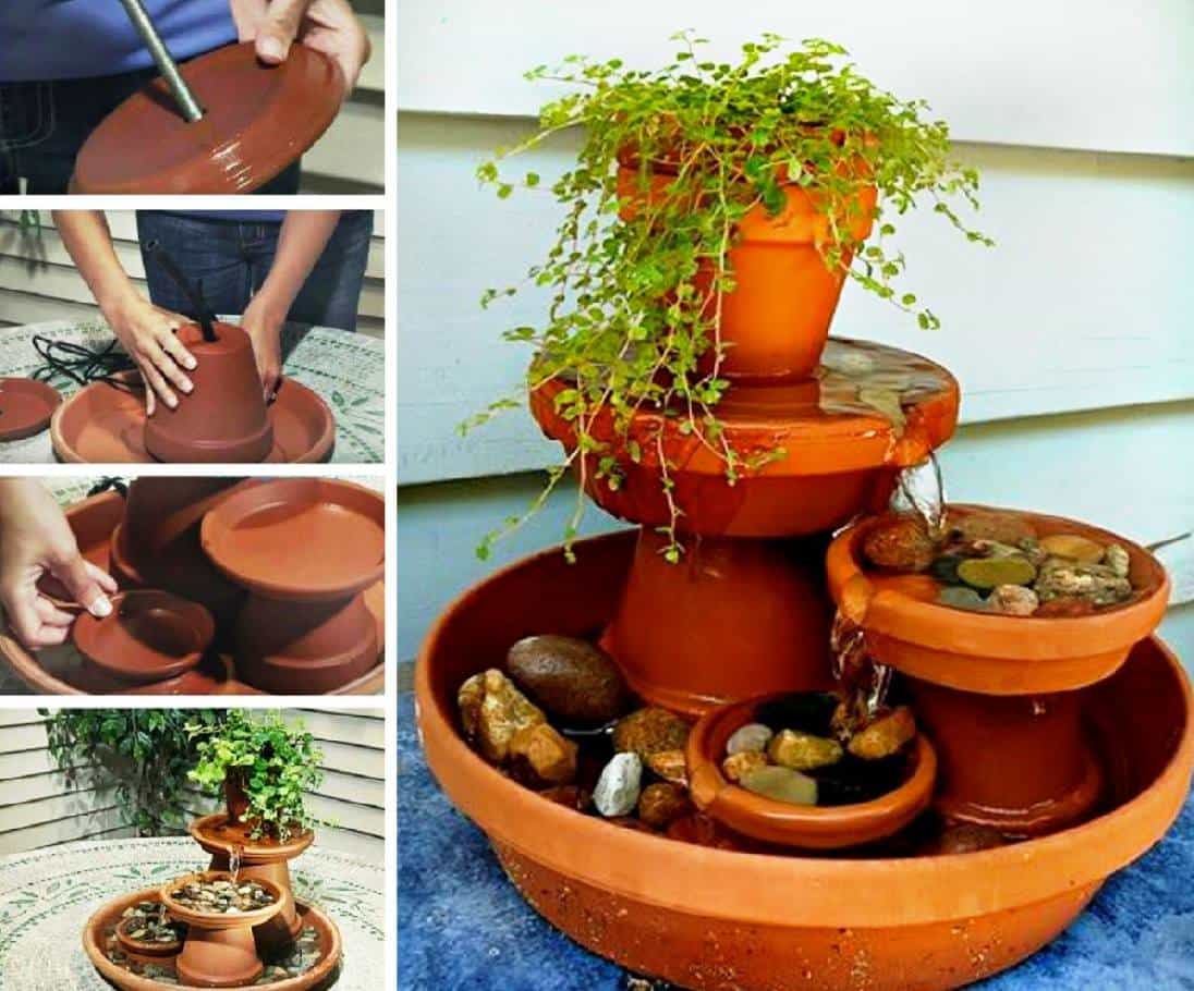 Clay pot fountain instructions video tutorial super easy diy - Why you should cook clay pots ...