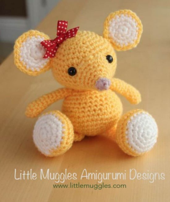 Crochet Baby Mouse Free Pattern
