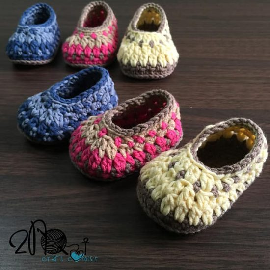 Crochet Galilee Booties The WHOot
