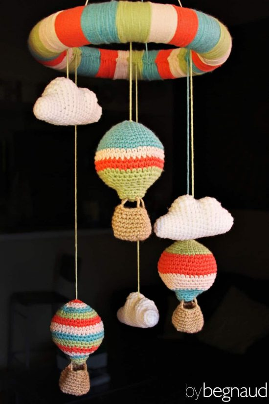 Crochet Hot Air Balloons