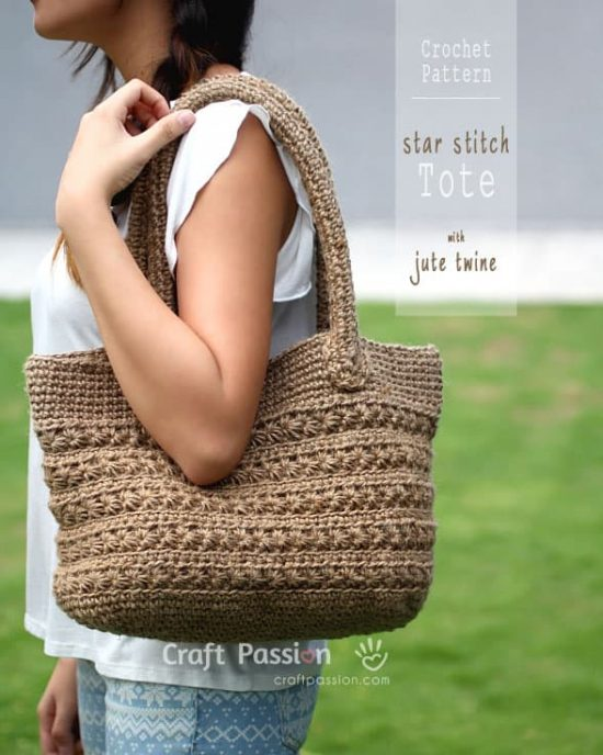 Crochet Tote Bag Patterns Best Free Collection The Whoot