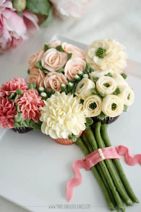 Cupcake Bouquet Tutorial With Video | The WHOot