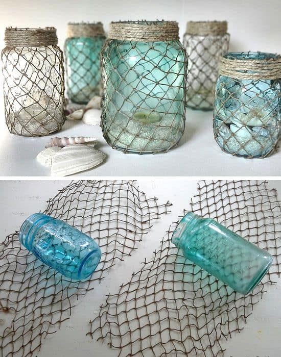 Fishnet Jars