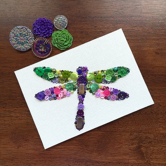 button-dragonfly