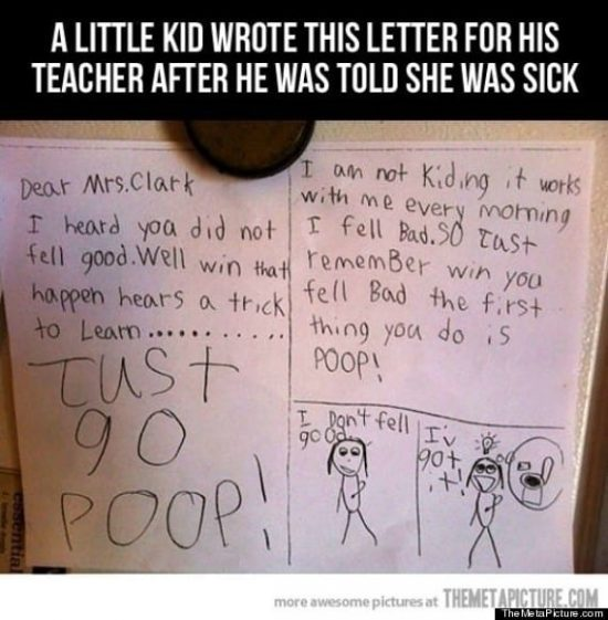 childs-letter-to-his-teacher-just-go-poop