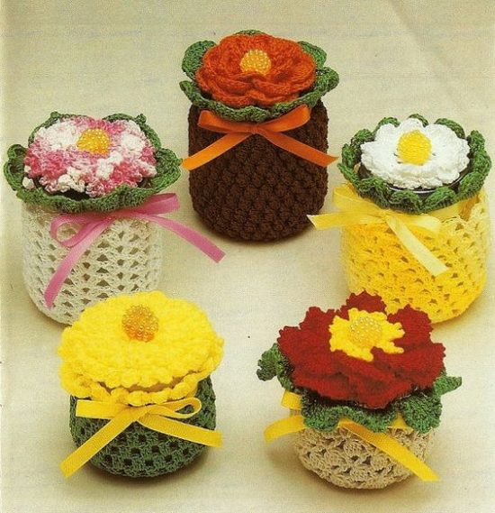 Crocheted Baby Jars