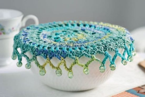 Crocheted Jug Cover Free Pattern