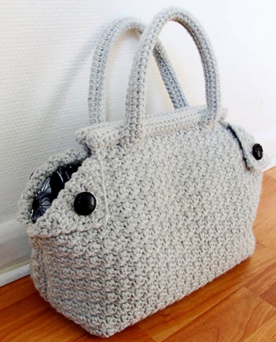 Derek Crochet Bag Free Pattern