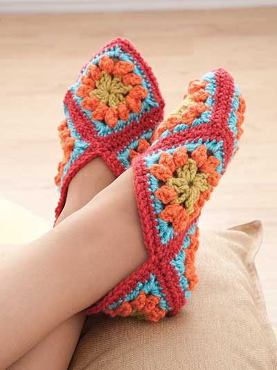 granny-square-slippers-pattern