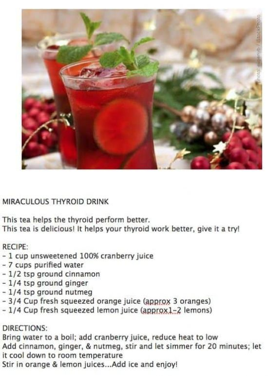 Miracle Thyroid Drink