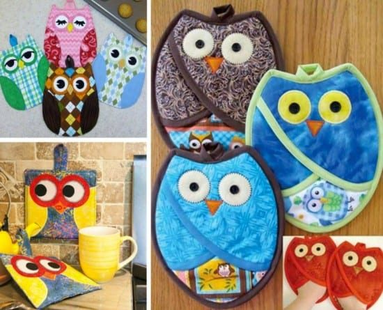 Owl Pot Holders Pattern