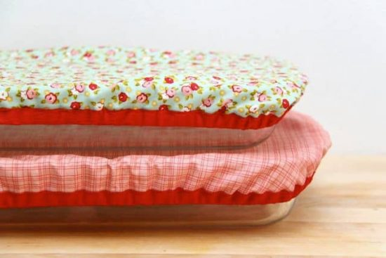 Reusable and Washable Baking Dish Covers