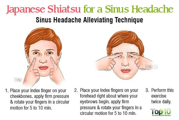 shiatsu-for-a-sinus-headache