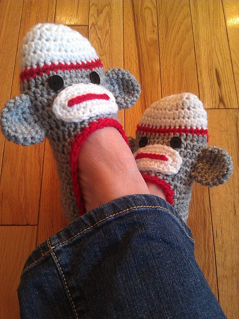 Sock Monkey Crochet Pattern