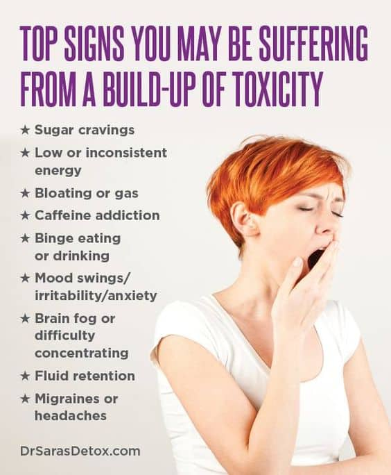 Top Signs You May Be Suffering From Toxicity Build Up