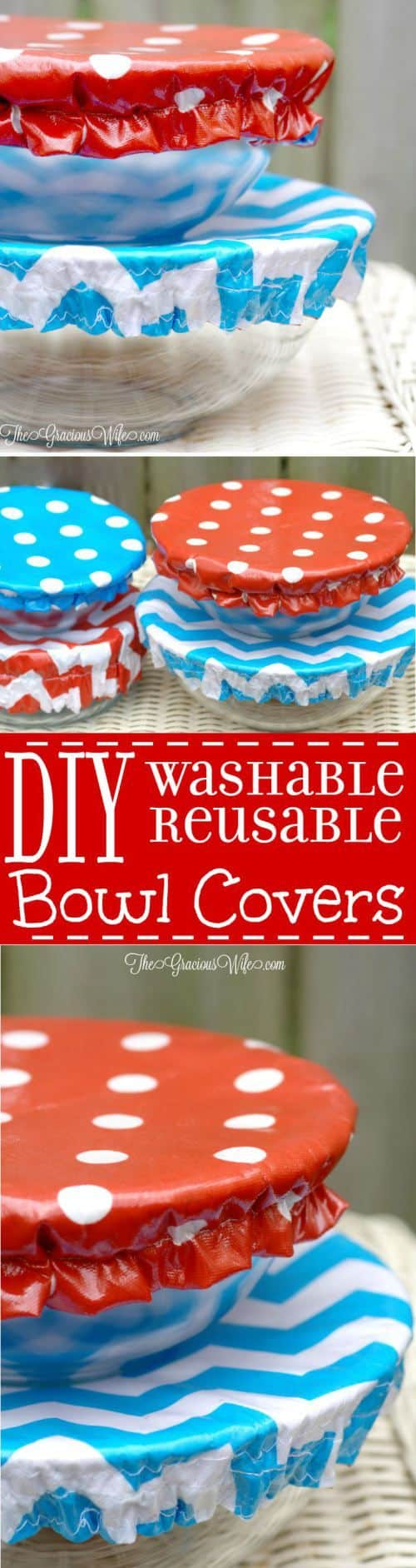 Washable Reusable Bowl Covers