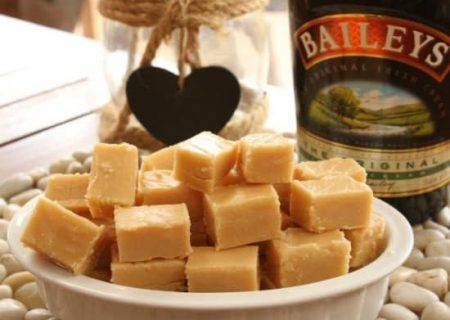 Baileys Irish Cream White Chocolate Fudge Recipe