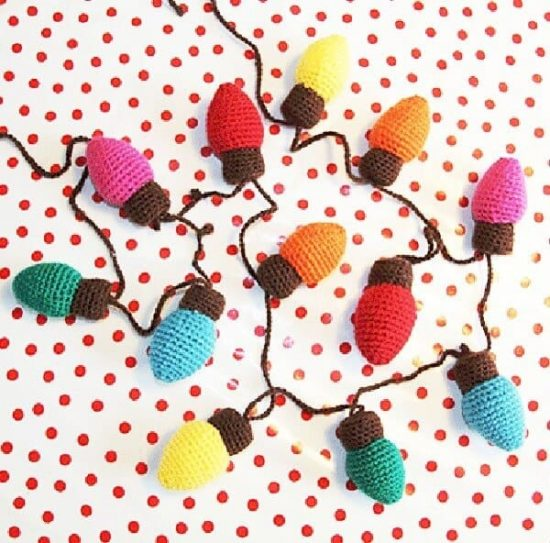 Christmas Lights Free Pattern