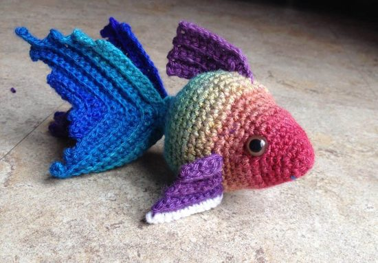 Crochet Goldfish Patterns Free Watch The Video Tutorial
