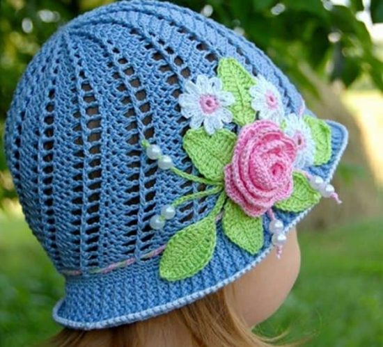 Childrens Crochet Hat Pattern Free 3d