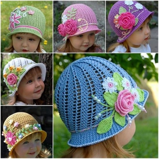 Crochet Cloche Hats The Best Free Collection a7fe8c62ddc