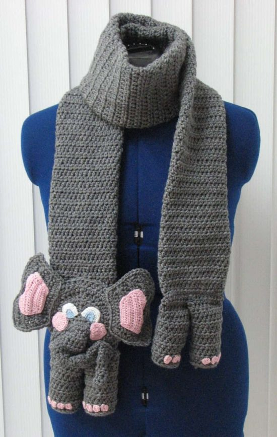 Crochet Animal Scarves Patterns You\'ll Love Video Tutorial