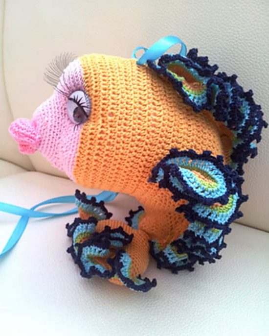 Crochet Goldfish Pattern