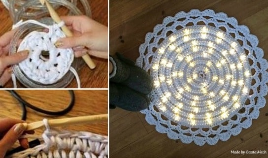 Crochet Led Light Rug Fabulous Free Pattern The Whoot