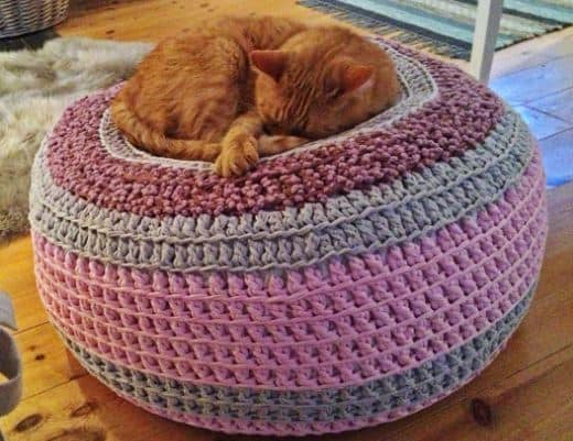 Awesome Crochet Pet Bed Free Pattern All The Best Ideas Short Links Chair Design For Home Short Linksinfo